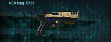 Sandy scrub pistol nc4 mag-shot