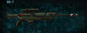 Amerish leaf sniper rifle sr-7