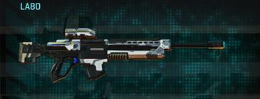 Esamir ice sniper rifle la80