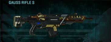 India scrub assault rifle gauss rifle s