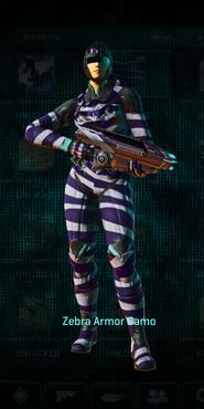 Vs zebra light assault