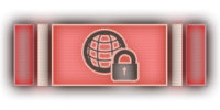 Continent Lock Ribbon