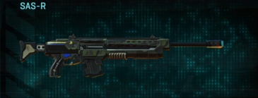 Amerish scrub sniper rifle sas-r
