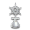 Snowflake Hood Ornament NC