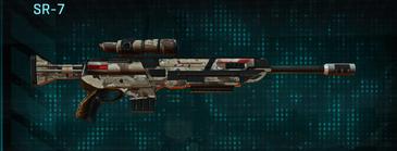 Desert scrub v2 sniper rifle sr-7