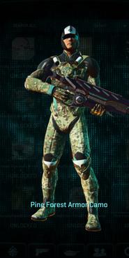 Vs pine forest combat medic