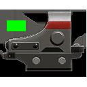 Weapons TR DokuWeapons Attachments ReflexSight001 FactionGreen 128x128