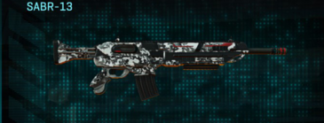Snow aspen forest assault rifle sabr-13