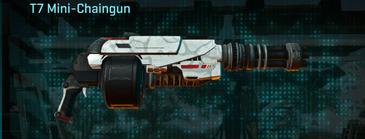 Esamir snow heavy gun t7 mini-chaingun