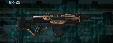 Indar canyons v1 assault rifle gr-22