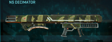 Temperate forest rocket launcher ns decimator