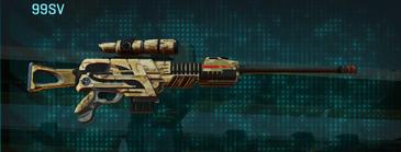 Sandy scrub sniper rifle 99sv