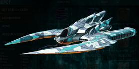 Esamir ice scythe