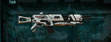 Esamir snow assault rifle tar