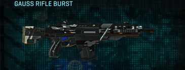 Indar dry brush assault rifle gauss rifle burst