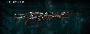 Indar dry brush assault rifle t1b cycler