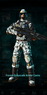 Nc forest greyscale combat medic