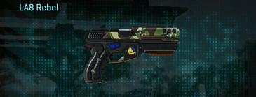 African forest pistol la6 rebel