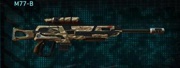 Indar dunes sniper rifle m77-b
