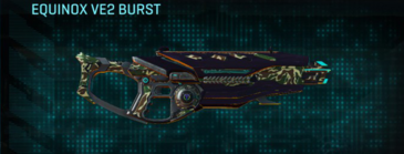 Scrub forest assault rifle equinox ve2 burst
