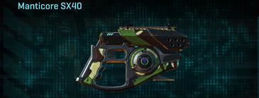African forest pistol manticore sx40