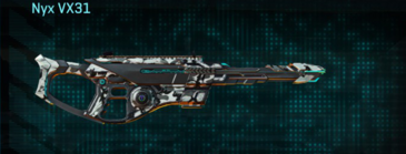 Forest greyscale scout rifle nyx vx31