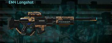 Indar canyons v1 sniper rifle em4 longshot
