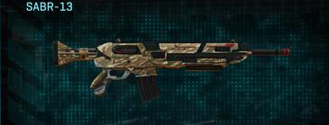 Indar dunes assault rifle sabr-13