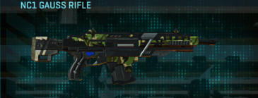 Jungle forest assault rifle nc1 gauss rifle