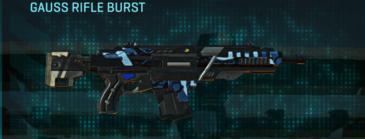 Nc alpha squad assault rifle gauss rifle burst