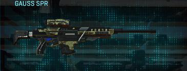 Pine forest sniper rifle gauss spr