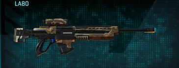 Indar plateau sniper rifle la80