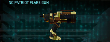 India scrub pistol nc patriot flare gun