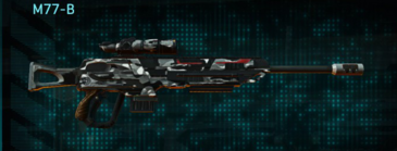 Indar dry brush sniper rifle m77-b