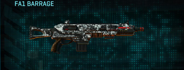 Snow aspen forest shotgun fa1 barrage