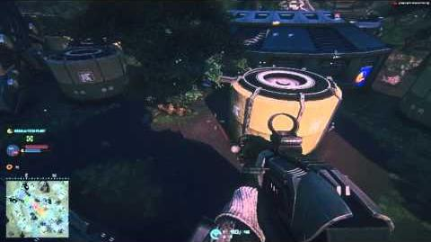 Planetside 2 Light Assault at a Tech Plant