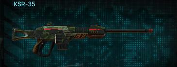 Amerish leaf sniper rifle ksr-35