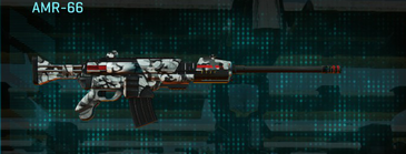 Forest greyscale battle rifle amr-66