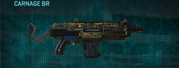 Indar highlands v1 assault rifle carnage br