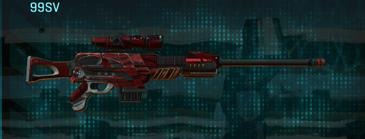 Tr zebra sniper rifle 99sv