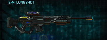 Indar dry brush sniper rifle em4 longshot