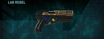 Indar plateau pistol la8 rebel