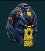NC Heavy Helm RebelSkull