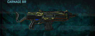 Temperate forest assault rifle carnage br