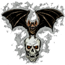 Halloween Bat Decal