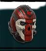 TR Heavy Helm BandedSkull