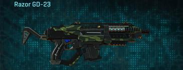 Amerish forest carbine razor gd-23