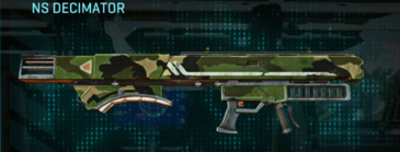Jungle forest rocket launcher ns decimator