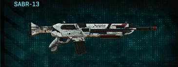 Rocky tundra assault rifle sabr-13