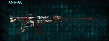Snow aspen forest battle rifle amr-66